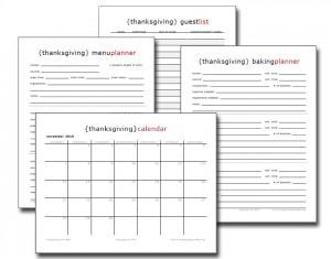 free thanksgiving planning ebook