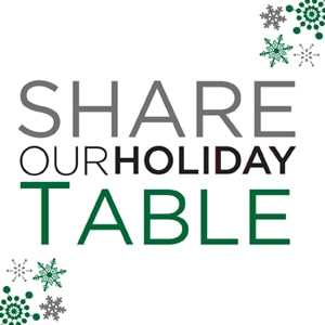 share our strength - share our holiday table - virual progressive dinner