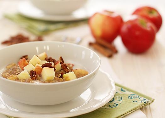 overnight apple pie steel cut oats