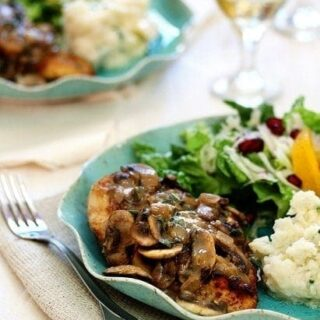 Chicken Marsala with Sage and Thyme