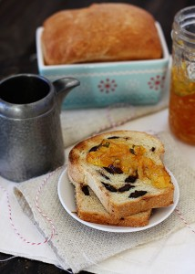 chocolate orange bread
