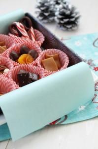 Chocolate Covered Vanilla Fleur de Sel Caramels