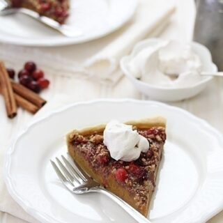 Cranberry Pecan Pumpkin Tart | Good Life Eats