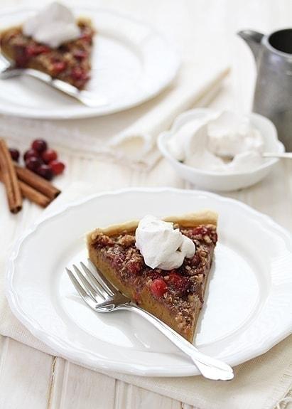 Cranberry Pecan Pumpkin Tart