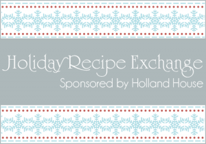 holland house recipe contest