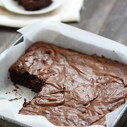 how to line a brownie pan with parchment paper