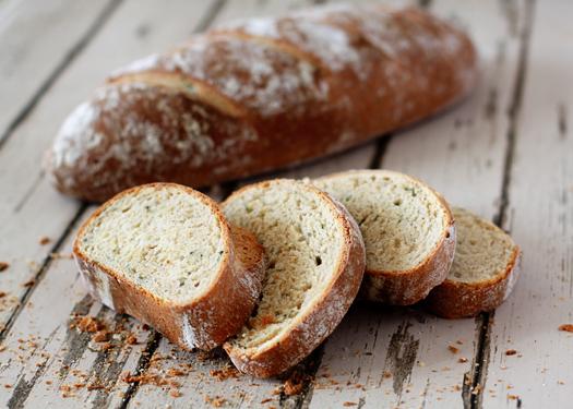 rustic garlic and rosemary yeast bread