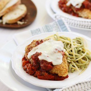 Chicken Parmesan with Sundried Tomato Sauce