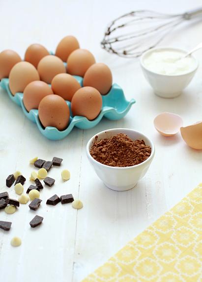 chocolate banana bread recipe and photo