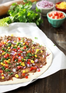 black bean mexican pizza recipe