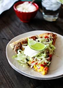 black bean mexican pizza recipe for super bowl
