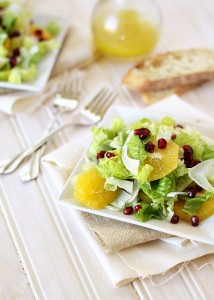 pomegranate orange and fennel salad