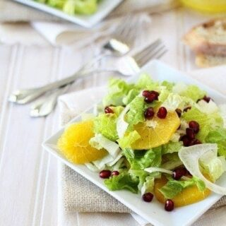 pomegranate orange and fennel salad recipe