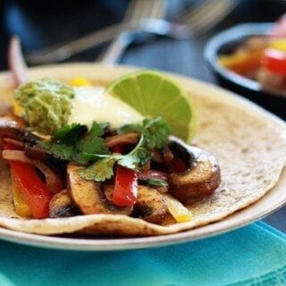 Vegetarian Fajitas: Recipe for Portabella Mushroom Fajitas | Good Life ...