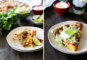 black bean mexican pizza recipe for super bowl