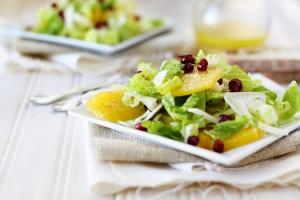 winter pomegranate salad
