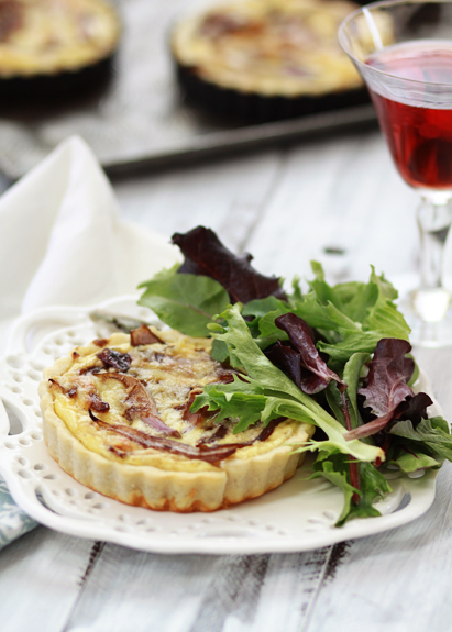 american egg board caramelized onion quiche