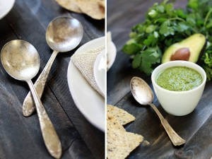 mexican cilantro lime pesto sauce