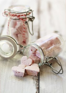 heart shaped marshmallows for valentine's day