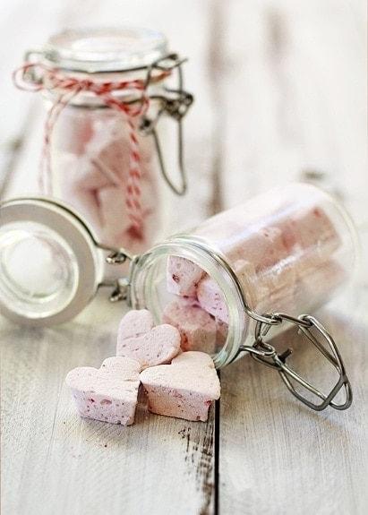 raspberry vanilla marshmallows