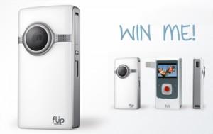 Flip cam giveaway