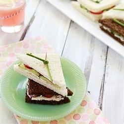 Cucumber Sandwich Recipe Baby Shower Recipe Good Life Eats