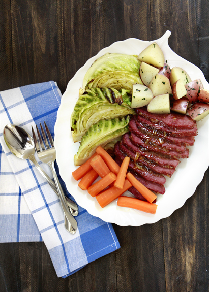 Honey Marmalade Mustard Glazed Corned Beef | Good Life Eats