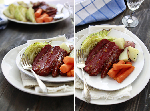 st. patrick's day corned beef and cabbage recipe