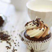 How to Pipe Two Tone Frosting for Cupcakes