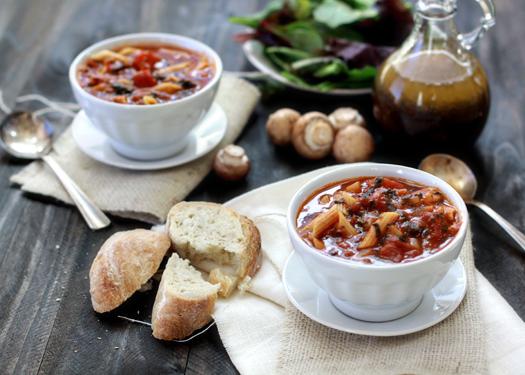 easy tomato florentine soup