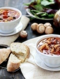 easy homemade tomato florentine soup
