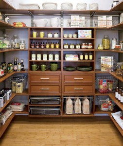 perfect organized pantry
