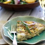 easy artichoke frittata recipe