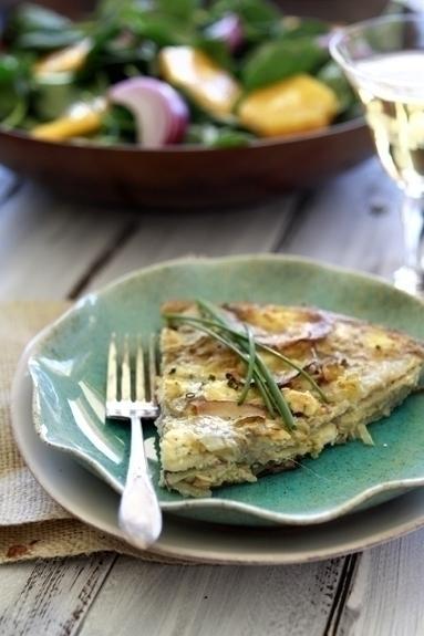 easy artichoke frittata recipe