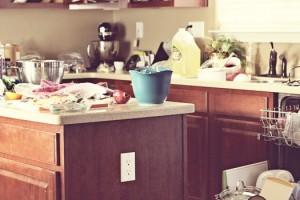 kitchen disaster mess