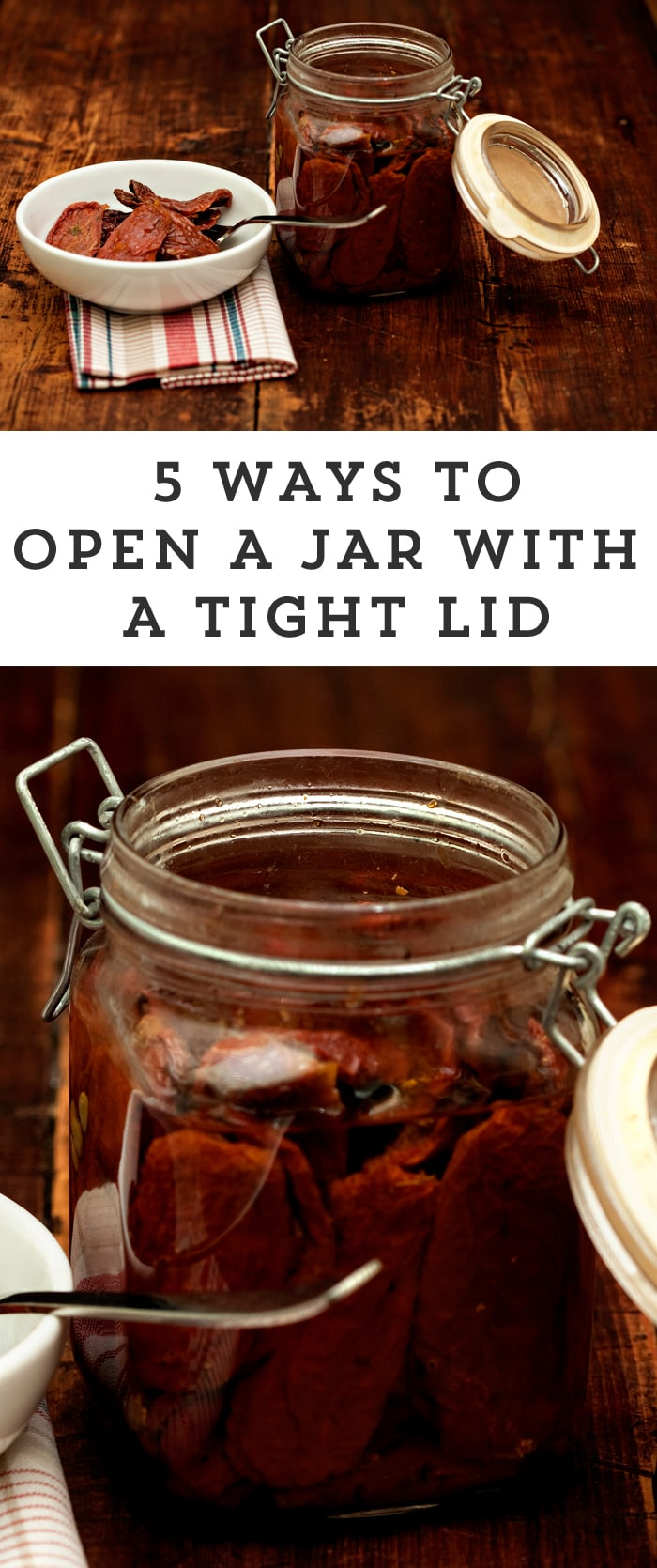Have you ever found yourself trying to open a particularly stubborn jar? Here are 5 proven tips to help you open a tight lid.