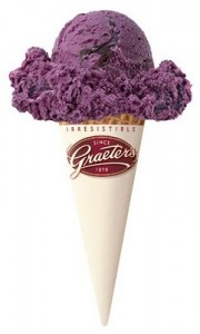 black raspberry chocolate chip ice cream