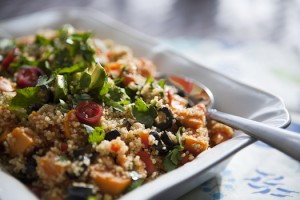 mexican quinoa sweet potato salad