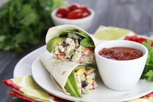 santa fe chicken salad sandwich recipe