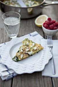 spinach and potato frittata recipe