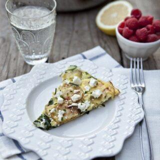 Roasted Potato and Spinach Frittata with Feta Recipe ...