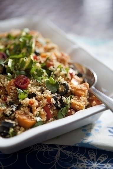 Mexican Sweet Potato Quinoa Salad | Quinoa with Sweet Potato | Good ...