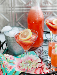 fresh strawberry lemonade recipe
