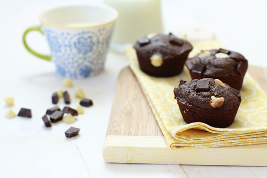 chocolate banana muffin recipe