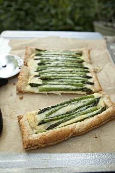 recipe for asparagus tart