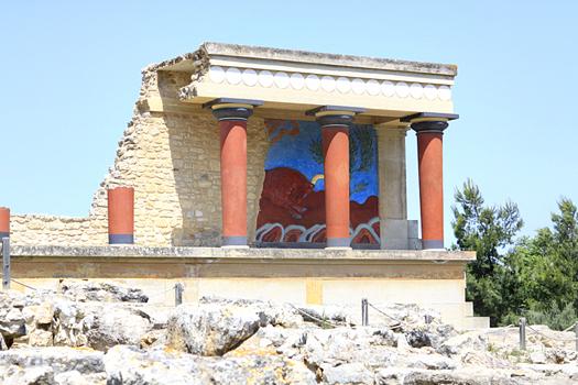 knossoss minoan palace photos