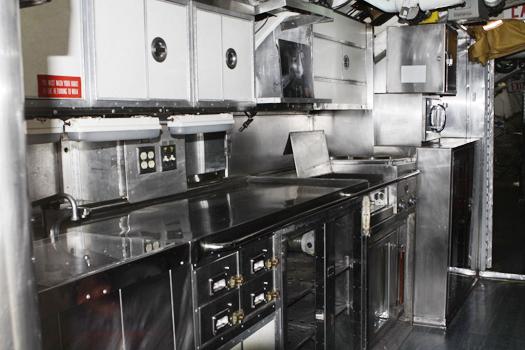 uss dolphin kitchen