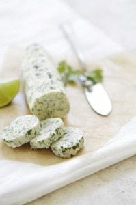 cilantro lime compound butter recipe