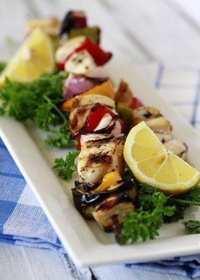 Citrus Chicken Mariande and Kebab Recipe