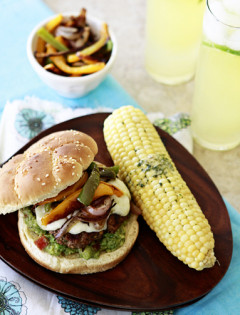fajita burger recipe